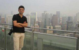 Kashmir Life Correspondent Sameer yasir in Kazakhstan
