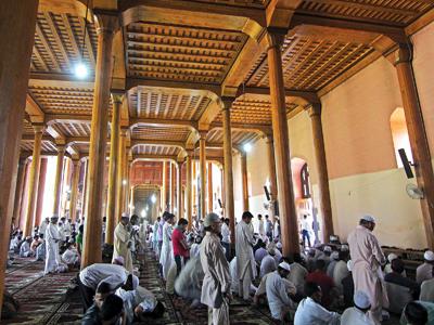 Inside Jamia Masjid