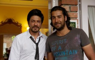 Sharukh Khan with Khawar Jamsheed