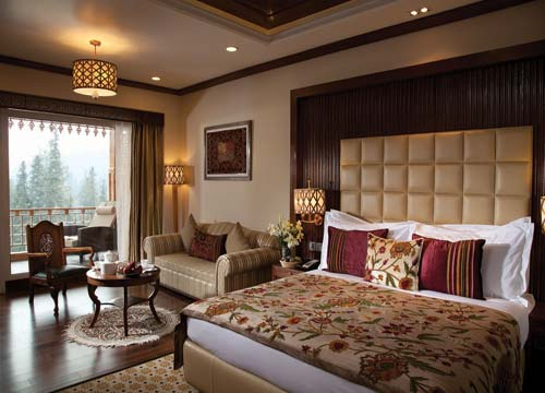 Luxury Balcony Room in Khyber Himalayan Resort & Spa Gulmarg