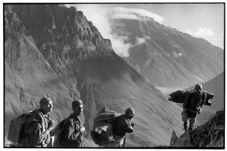 One of the historic 1947-48 war photographs taken by legendary photographer Henri Cartier-Bresson.