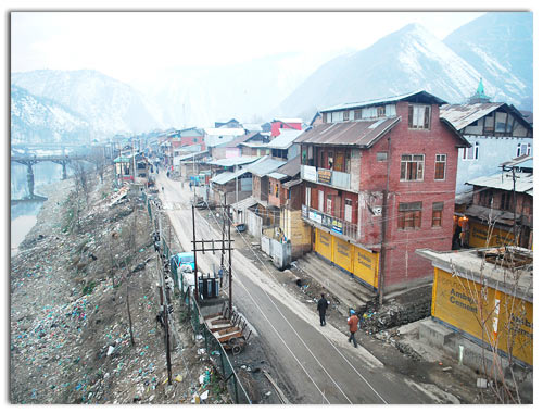 A view of old Baramulla Town -- Photo: Sajad Hussain