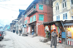The government is acuiring seven Kanals of land in the main hub of the old town --Photo: Yaqoob Lala