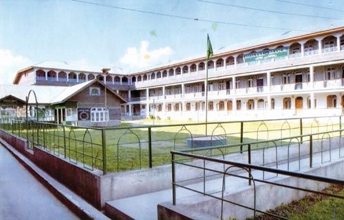 Hostel block of Jamait-ul-Bannat Lal Bazar