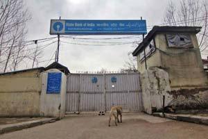 State Bank Of India, Srinagar -- Photo: Bilal Bahadur