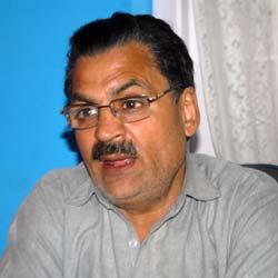 Nazir Ahmad Salroo, President CBMAIK