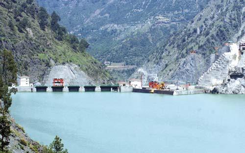 Water-Reservior-Baglihar