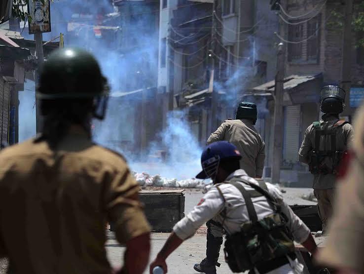 Protests erupt after top militant killed in Indian Kashmir