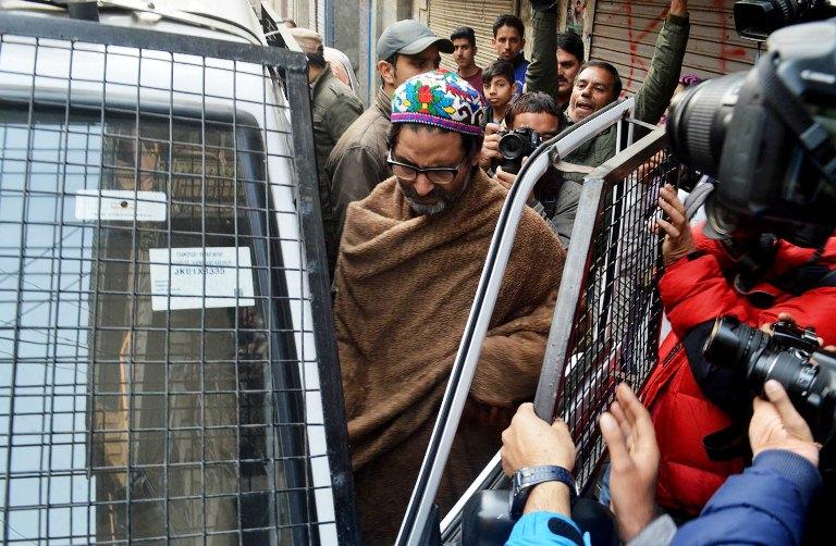 Indian police arrest Yasin Malik in Srinagar