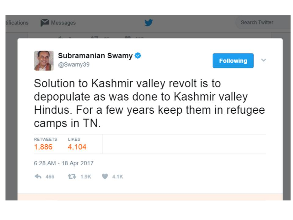 kashmir problem and its solution