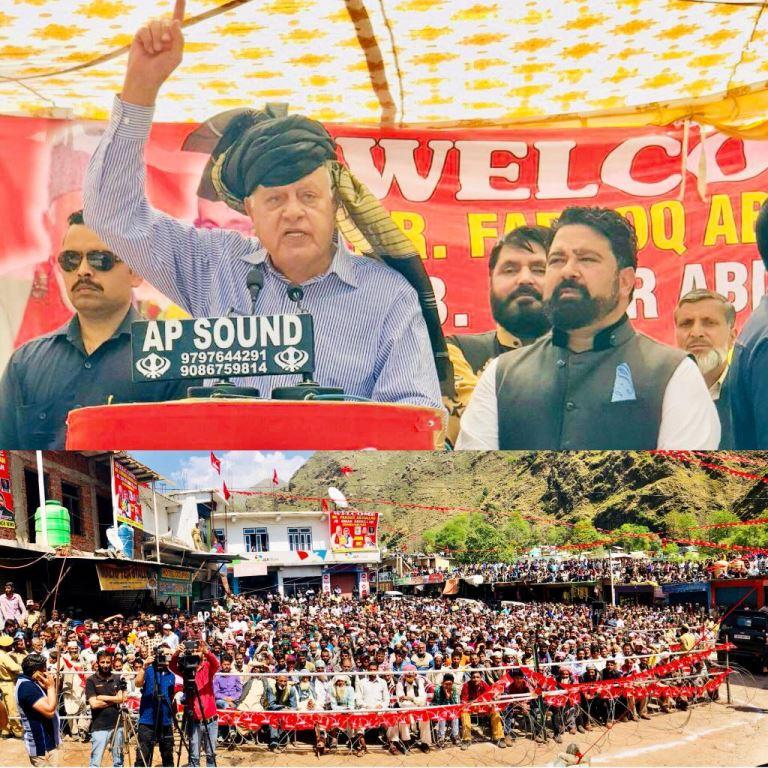 Restore autonomy, convert LoC into LoP: Farooq Abdullah