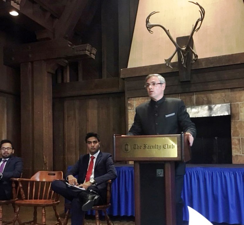 Omar Abdullah faces protests in US