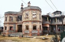 The historical residence of Sheikh Mohammad Abdullah in Soura Srinagar
