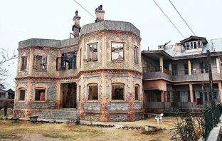 The historical residence of Sheikh Mohammad Abdullah in Soura Srinagar