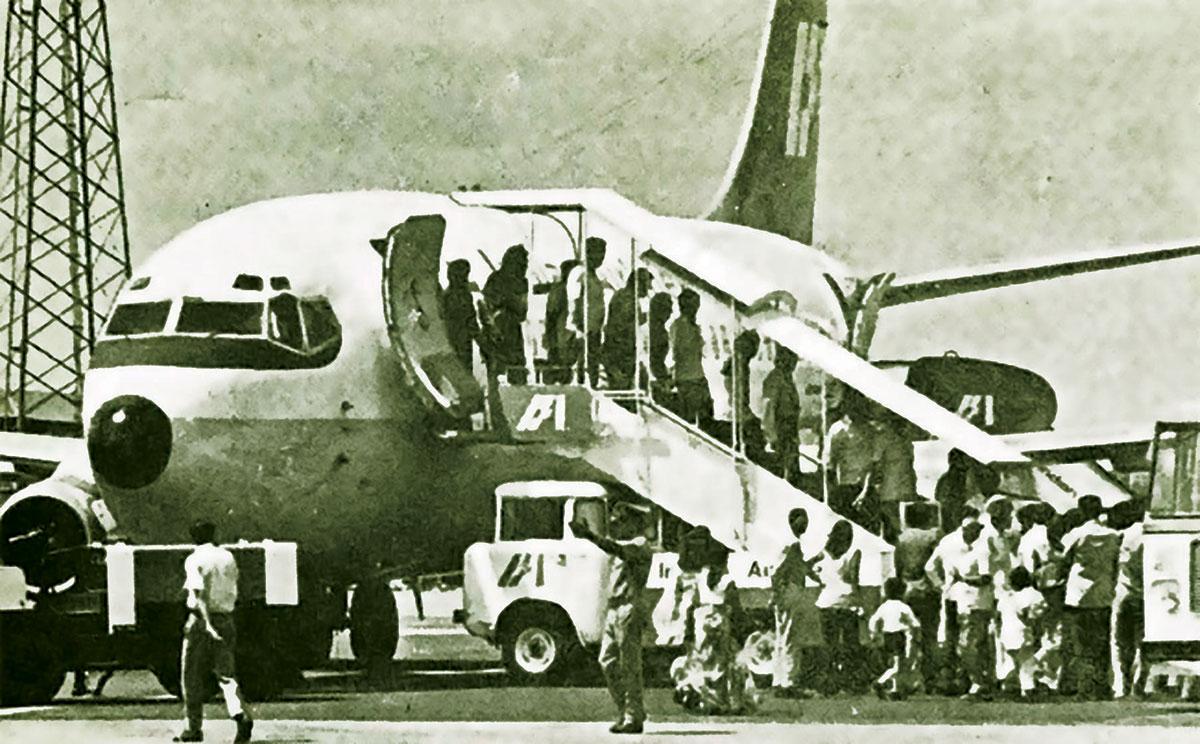 indian airlines hijack, indian plane hijack, fake hijack plane, maqbool bhat, hashim qureshi, ganga hijack, india, pakistan, rn kao, raw, research and analysis wing, गंगा विमान अपहरण, भारतीय विमान अपहरण, पाकिस्तान, हाशिम कुरेशी, मकबूल भट, इंदिरा गांधी