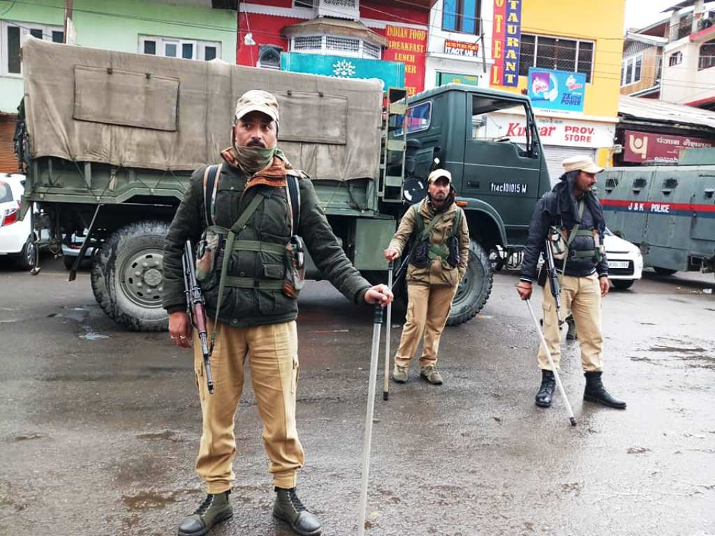 BJP leader's killing: Curfew extended, Army continues flag