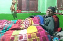 Dar bedridden at his home in Thajiwara, Bijbehara. Culture - Plebiscite and Poetry.