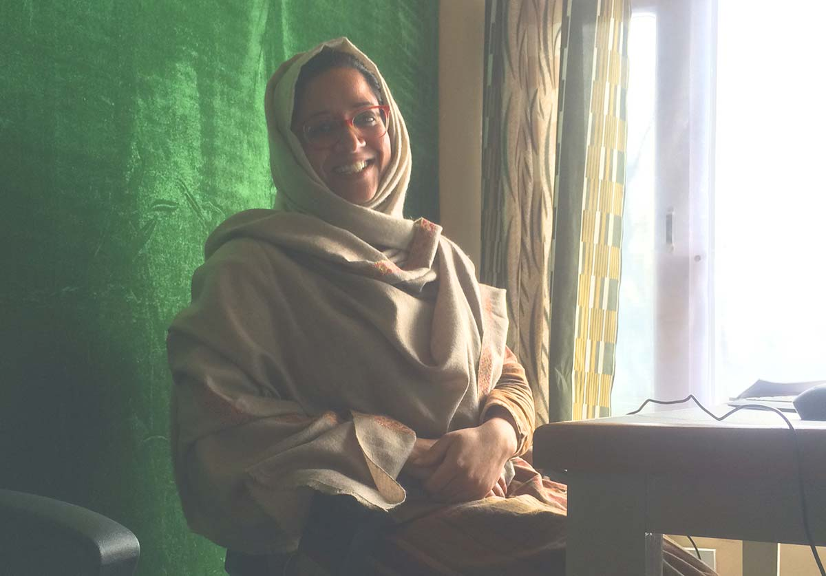 Ruksana Alam, Central Coordinator, OSC, Srinagar.