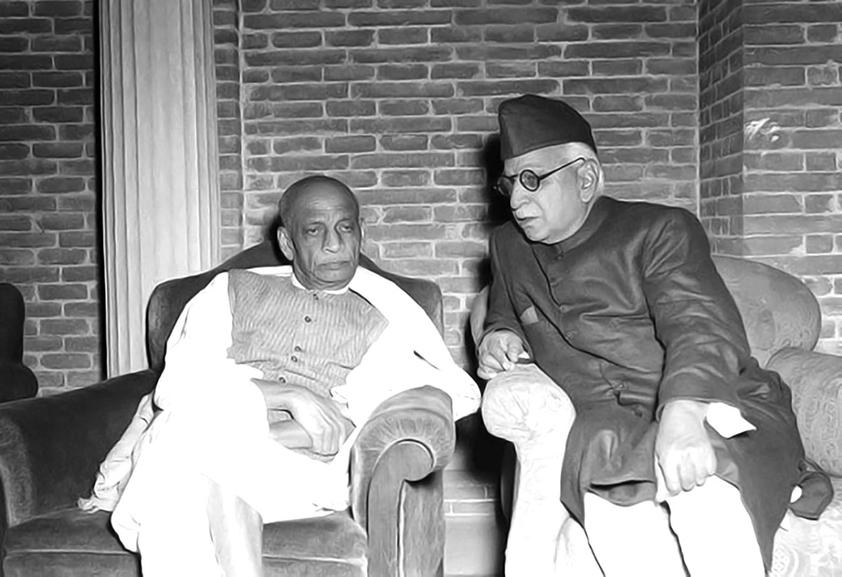 Kitchlew with Sardar Patel