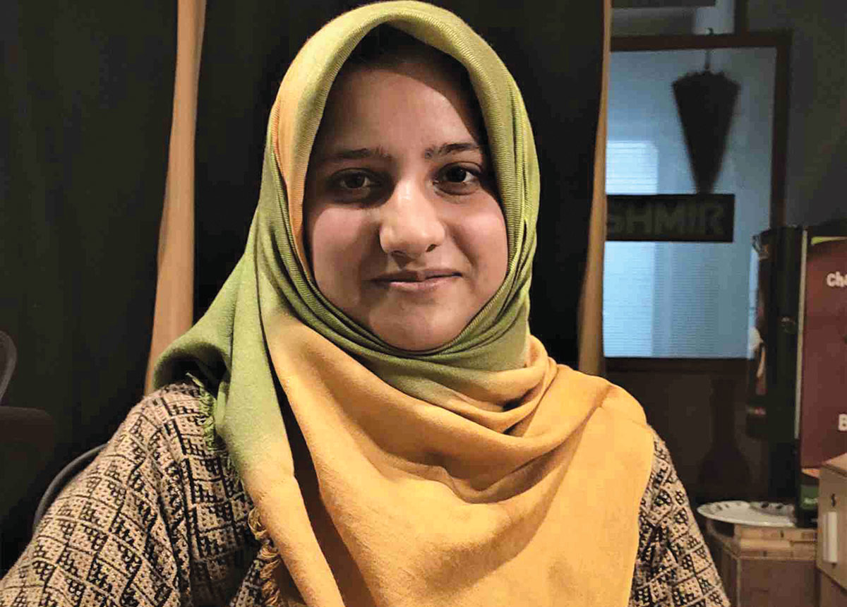"""Srinagar A Srinagar based journalist Marouf Gazi, 26, has been conferred with the Third NWMI Fellowship (Network for Women in India), instituted to support women journalists working in various kinds of challenging situations. She was awarded """"in recognition of her exceptional work spanning a range of topics from Kashmiri women's resistance and human rights in the Kashmir Valley to less talked about issues like domestic violence and Kashmiri fashion design. Her rigorous work in an extremely challenging environment for women journalists shows immense promise."""" Gazi is presently working as a senior reporter with the Free Press Kashmir."""