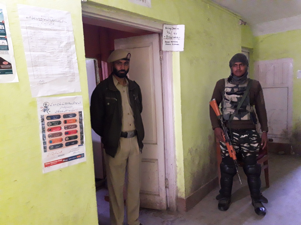 Image result for 2% voting in pulwama district