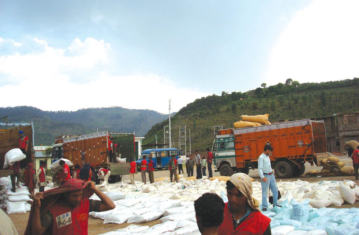 Chakan-D a- Bagh trade facilitation centre.