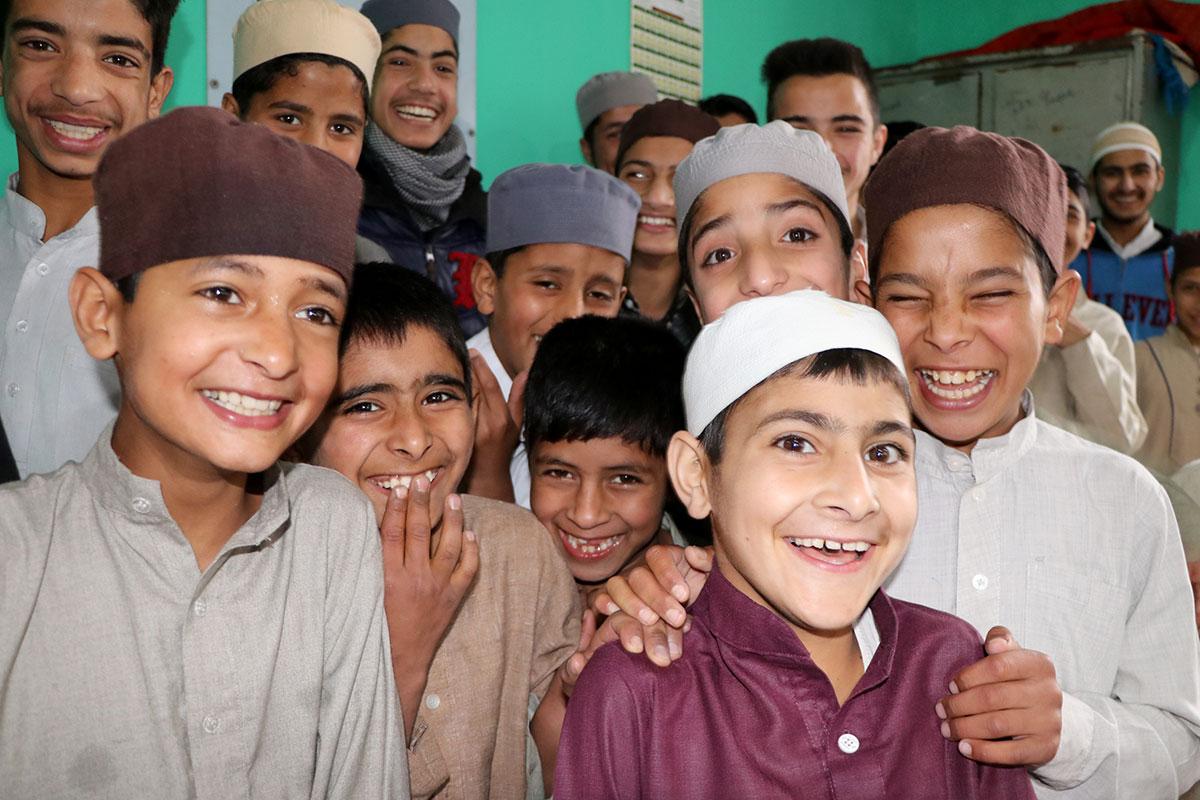 Kids at Darul Manan. KL Image: Bilal Bahadur