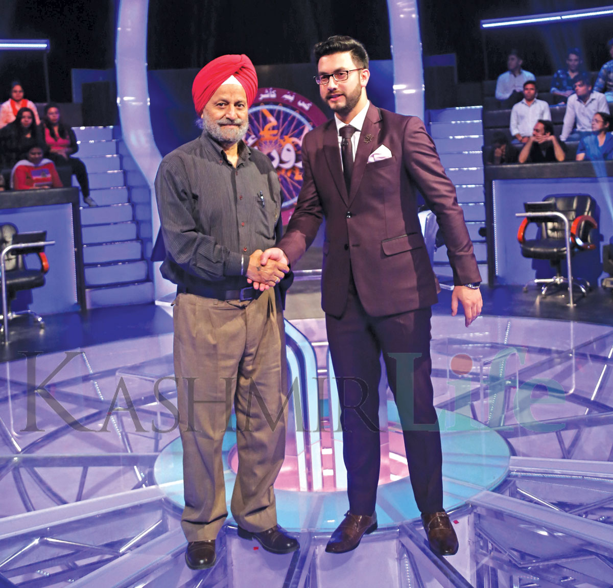 The first player on a Kashmir game show was a Sikh from Baramulla. KBC Kashmir Life
