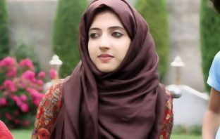 Sama Shabir, the daughter of Kashmiri separatist leader Shabir Ahmad Shah