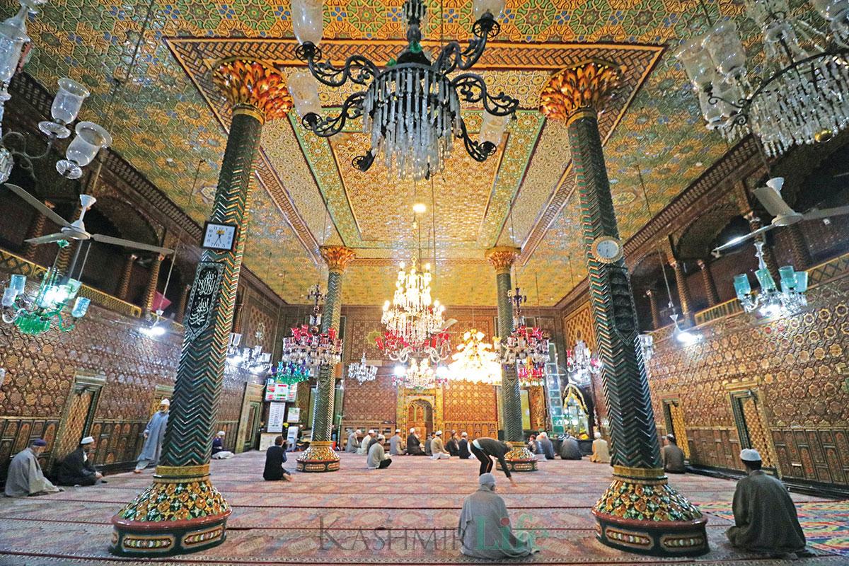 An inside view of Khanqah Moula. KL Image: Bilal Bahadur
