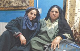 Khadija and Fareeda at their home. KL Image: Aaqib Hyder