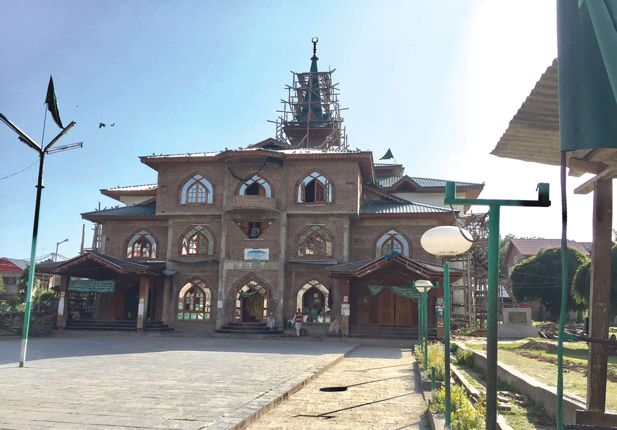 Khanqah at Tral.