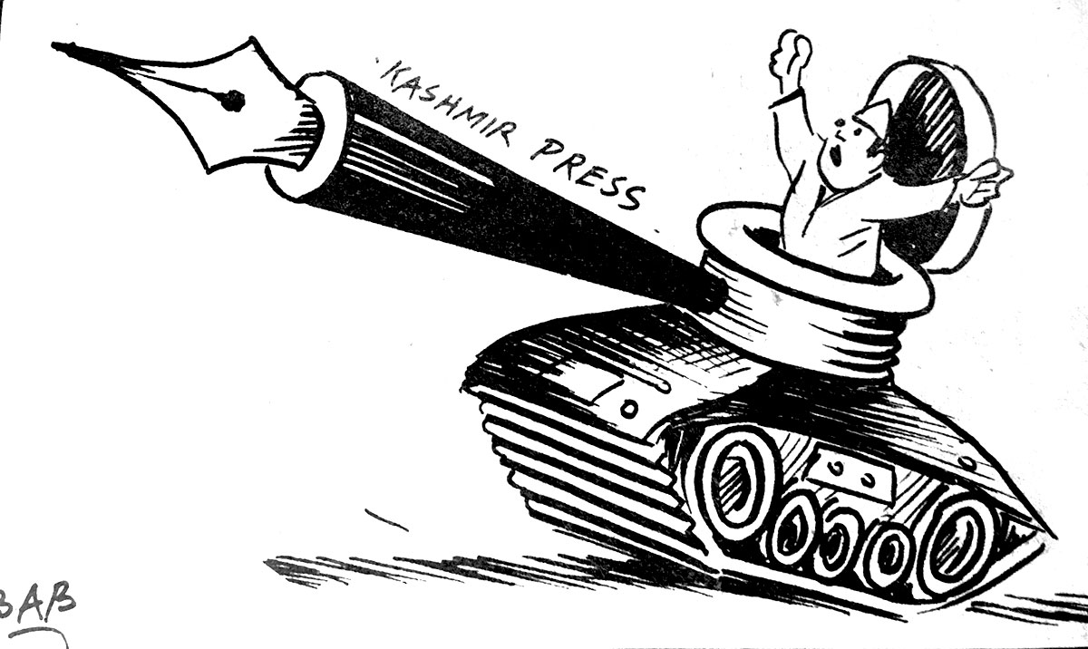 cartoon: BAB kashmir press