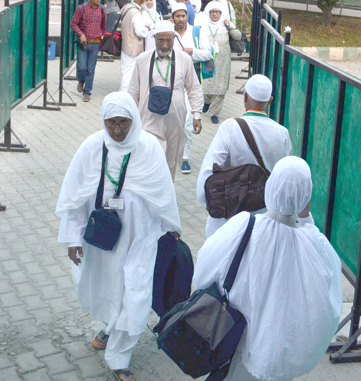 Haj pilgrims. KL Image by Bilal Bahadur