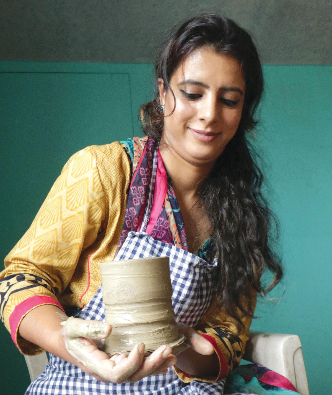 Saima Shafi (KL Image by Bilal Bahadur)
