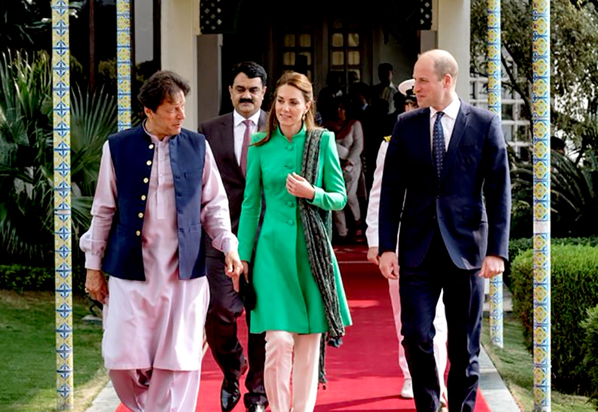 Briefing - Kashmir - visit-imran-khan-prince-william-and-kate