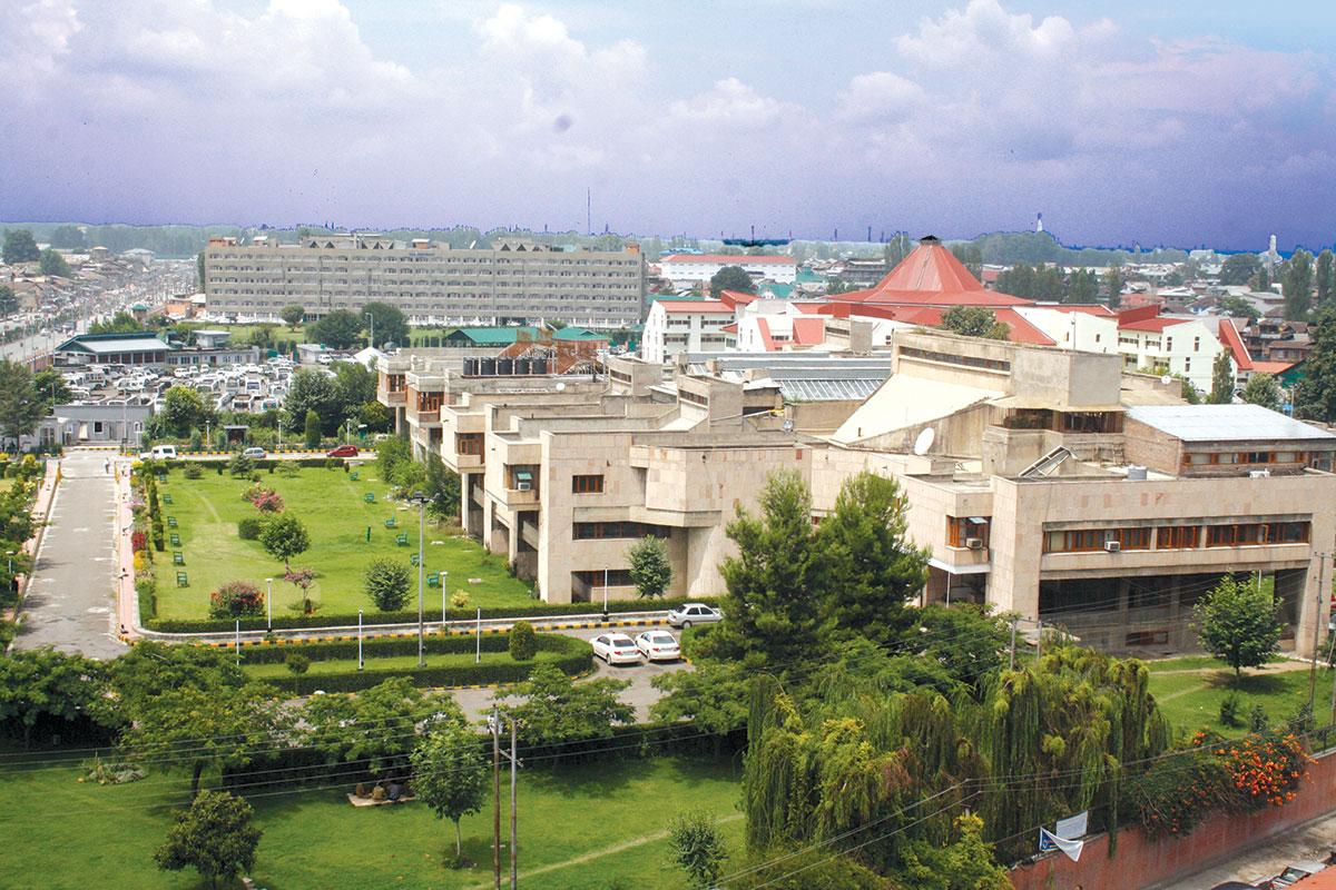 High Court , Srinagar - KL Image by Bilal Bahadur