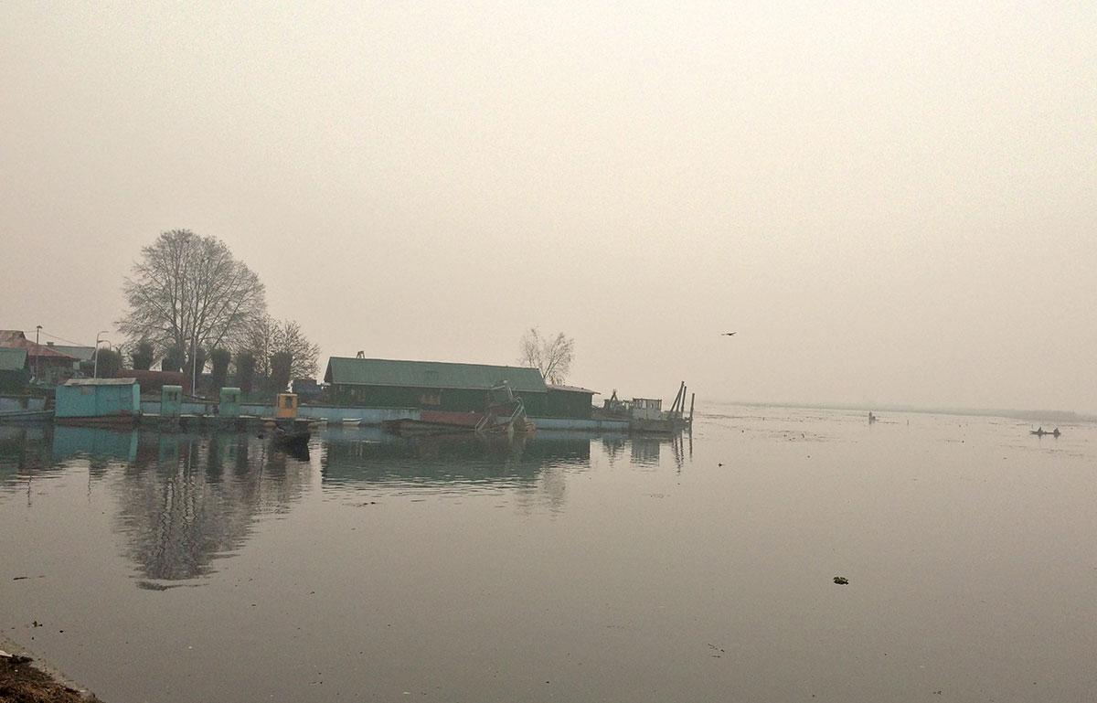 A view of Dal Lake.