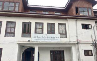 J&K State Mission Directorate, ICPS, Srinagar.