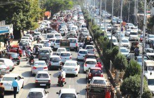 Traffic Jam. KL Image by Bilal Bahadur